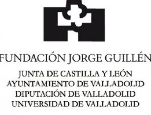 """Exposición: """"Tesoros manuscritos. Archivo Fundación Jorge Guillén"""""""
